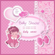 Baby shower — Stock Vector #23864271