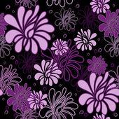 Floral pattern sans soudure — Vecteur