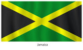 Jamaica flag — Stock Vector