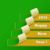 Sfondo nuovo anno 2014 — Vettoriale Stock