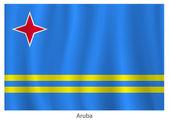 Aruba flag — Stock Vector