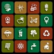 Ecology icons — Stock Vector #35183409