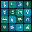 Ecology icons — Stock Vector #35556811