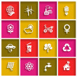 Flat icons set for Web — Stock Vector #49308575