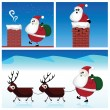 Stock Vector: Santa Claus