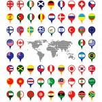 World flags — Stock Vector