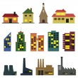 Buildings — Stock Vector #39345375