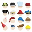 Hats — Vector de stock #39345381