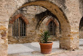 The Convento in mission San Jose, San Antonio, Texas — Stock Photo