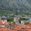 Old church in old town of Kotor — Stock Photo