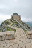 Platform on the Lovcen mountain in Montenegro — Stock Photo
