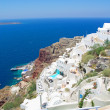 View of Oia town on Santorini island — Stock Photo #51325819