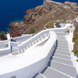 Traditional stairway in Oia town on Santorini island — Stock Photo #51325829