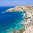Cliff and transparent sea water on Crete island — Stock Photo #51642793