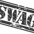 Grunge swag rubber stamp, vector illustration - 图库矢量图片