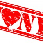 Grunge I love new york rubber stamp, vector — Stock Vector #9955548