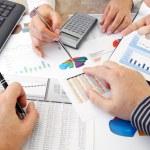 Analyzing Data — Stock Photo