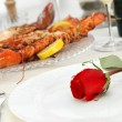 Fine Dining — Stock Photo