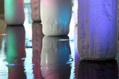 Ice pillars — Stockfoto