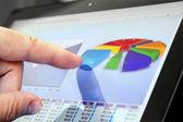 Analyzing Diagram — Stock Photo
