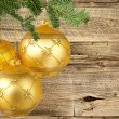 Christmas Tree Ornaments — Stock Photo #36358855