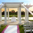 Wedding gazebo — Stock Photo #46283213
