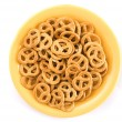 Heap of pretzels — Stock Photo