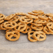 Heap of pretzels — Stock Photo