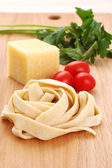 Homemade noodles — Stock Photo