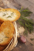 Garlic bread — Stock Photo