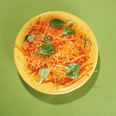Carrot salad — Stock Photo
