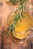 Coctail with rosemary — Stock Photo