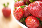 Ripe strawberry — Stock fotografie