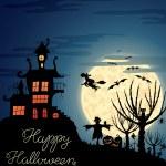 Halloween background — Stock Vector #13601064