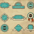 Royalty-Free Stock Vektorgrafik: Set of frames