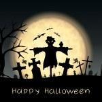 Halloween background — Stock Vector #13628585