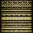 Set of vintage borders — Stock Vector #14914953