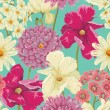 Floral Seamless Pattern — Stockvector  #30516123