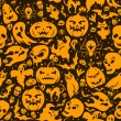 Halloween seamless pattern — Stock Vector #32405057