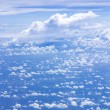 Stock Photo: Cloud scatter on blue sky
