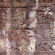 Bas-relief at Angkor wat — Stock Photo