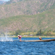 INLE LAKE, MYANMAR — Stock Photo
