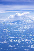 Cloud scatter on blue sky — Stock Photo
