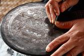 Traditional handicraft Myanmar — Stock Photo