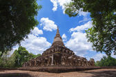 Wat Chang Lom — Stock Photo