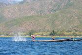 Lago inle, myanmar — Fotografia Stock