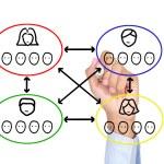 Teamwork concept — Stock Photo