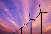 генератор ветряного двигателя — Стоковое фото