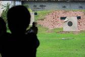 Shooting gun — Stock Photo