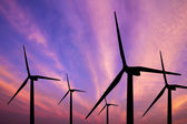 Wind turbine generator — Stock Photo